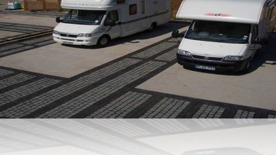 Motorhomes on the site
