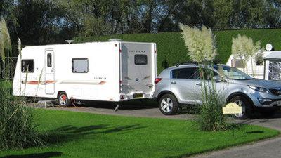 Tourers at Manor House Caravan Park