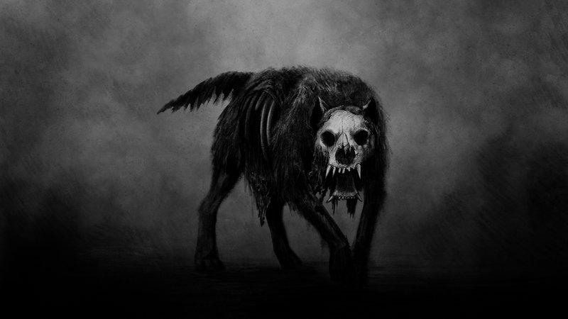 Old English Folklore - Black Shuck