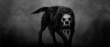 Old English Folklore - Black Shuck