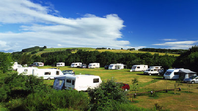 Photo of River Breamish Caravan Club Site, Northumberland, North of England