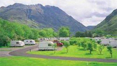 Full of nature, set in a beautiful location caravan park