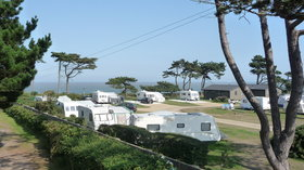 Beach View Suffolk Touring Campsite - Beach View Holiday Park on the Suffolk Coast.