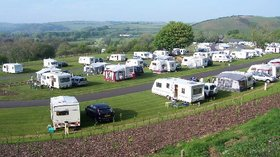 Picture of Lakeside Caravan Club Site, Somerset, South West England