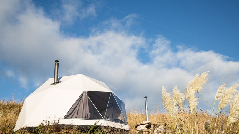 Seaside holiday in Scotland holiday in Fife - Holiday in a stylish geodome