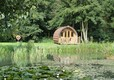 One of our glamping pods