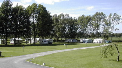 Touring Field at Wrens of Ryedale Touring Park