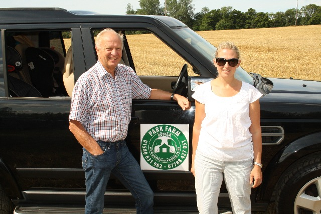 Richard Bailey and daughter Lucinda Fane run Park Farm in East Sussex