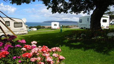 Tyddyn Du Touring Park, Conwy, Wales - Make award-winning Tyddyn Du Touring Park your base for caravan holidays in Wales and you'll discover a quiet adults-only campsite with sea views