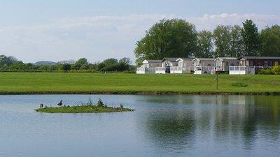Riverside, lodges