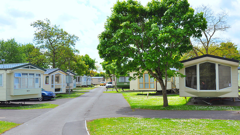 Lakeside caravans - Lakeside Holiday Park, Burnham on Sea