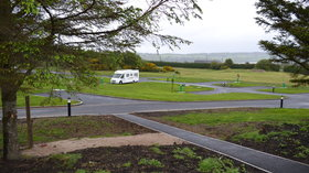 There's a new campsite in County Donegal  - If you're looking for a campsite in Ireland, try Wild Atlantic Camp in Creeslough, County Donegal, which has motorhome pitches and glamping pods (© Practical Motorhome)