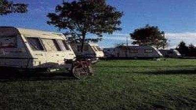Tourers on the caravan park