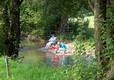 Playing on the riverside, Rockbridge Park
