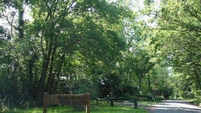 Entrance to Honeybridge Park, West Sussex - Entrance to Honeybridge Park