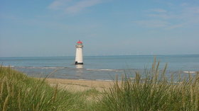 Point of Ayr Holiday Park  - The Light House on Talacre Beach