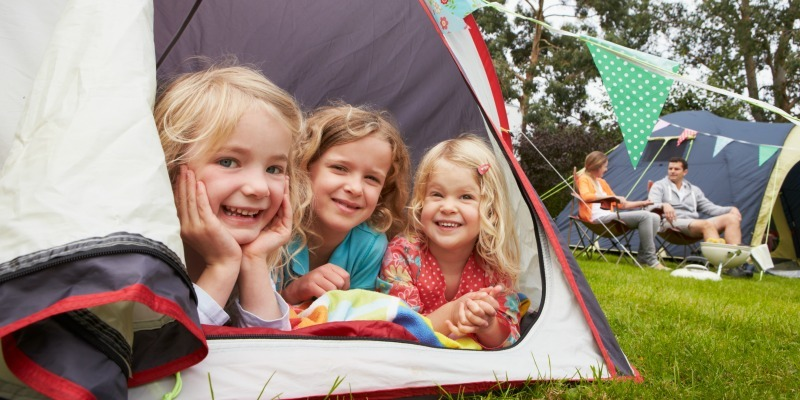 Camping with children - Family campsite