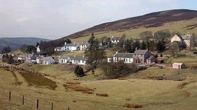 Hilly area near the caravan site