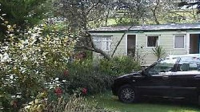 Picture of Mawgan Porth Holiday Park, Cornwall - Static caravans at Mawgan Porth Holiday Park