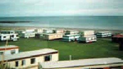 Holiday homes at the caravan site