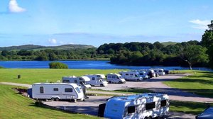 Tourers Image Loch Ken - hard standing touring/motor home pitches with outstanding lock view