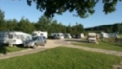 On the site - Touring facilities at Carsington Water Caravan Club Site