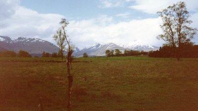 Grey Corries from Insh nr Inverroy near the caravan site