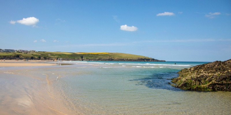 Staycations 2021 - Crantock Beach, Newquay, Cornwall