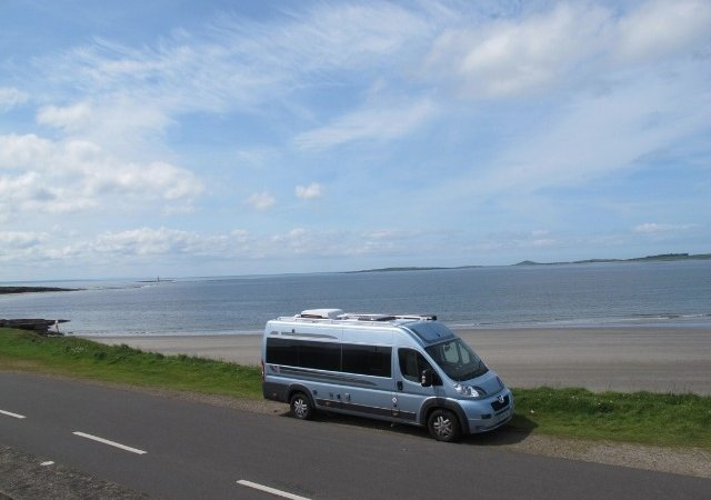 Ireland Rosses point Motorhome (1)