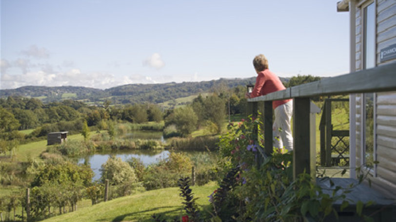 Photo of Wood Farm  - Enjoying the view from one of our Caravan Holiday Homes