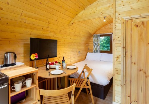 Photo of Camping pod: Super Deluxe Dog-Friendly Glamping Pod