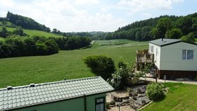 Holidays in Wales - Fir View Tan Y Ffridd Holiday Home Park, Powys
