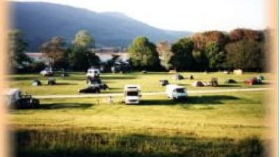 Camping field in Applecross Campsite, Highland