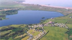 Great aerial view of the holiday park