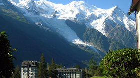 Mont Blanc depuis Chamonix (© By Aiguille (Own work) [CC0], via Wikimedia Commons)