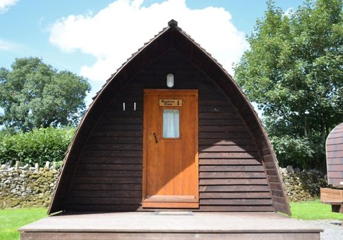 Photo of Camping pod: Ruskin View Glamping Pod