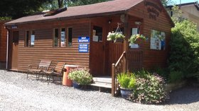 Our lodge on the holiday park