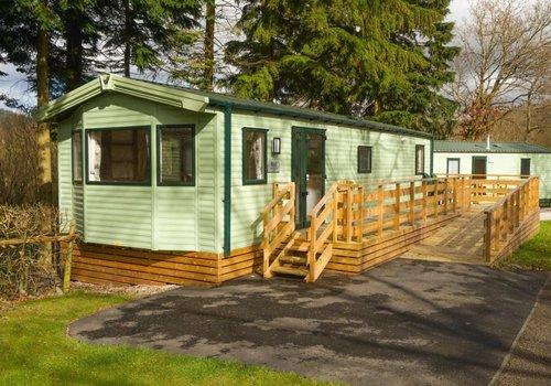Photo of Holiday Home/Static caravan: 2-Bed Pet-Friendly Accessible Caravan