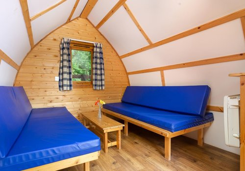 Photo of Camping pod: Family Log Glamping Pod