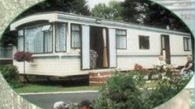 Caravan on the site
