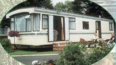 Caravan on the site
