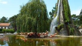Zoo de la Palmyre - Les Mathes (© By Patrick Despoix (Own work) [CC BY-SA 3.0 (http://creativecommons.org/licenses/by-sa/3.0)], via Wikimedia Commons (original photo: https://commons.wikimedia.org/wiki/File:563_-_Zoo_de_la_Palmyre_-_Les_Mathes.jpg))