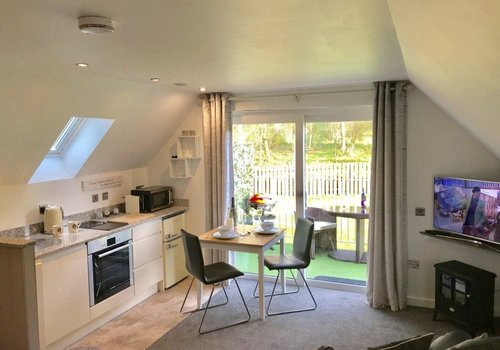 Photo of Holiday Home/Static caravan: The Wee Secret Luxury Apartment