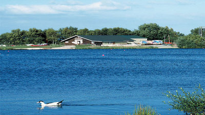 Picture of surroundings of Leisure Lakes, Lancashire, North of England - Beautiful views and the lake