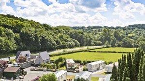 Holidays in Wales - Maenan Abbey Caravan Park
