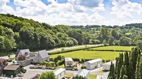 Holidays in Wales - Maenan Abbey Caravan Park