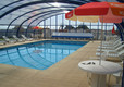 Swimming Pool with Cover closed