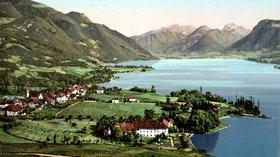 In the region - Talloires, Haute-Savoie (© By Detroit Publishing Company [Public domain], via Wikimedia Commons)