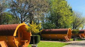 Glamping in Devon - Oakdown Touring & Holiday Caravan Park