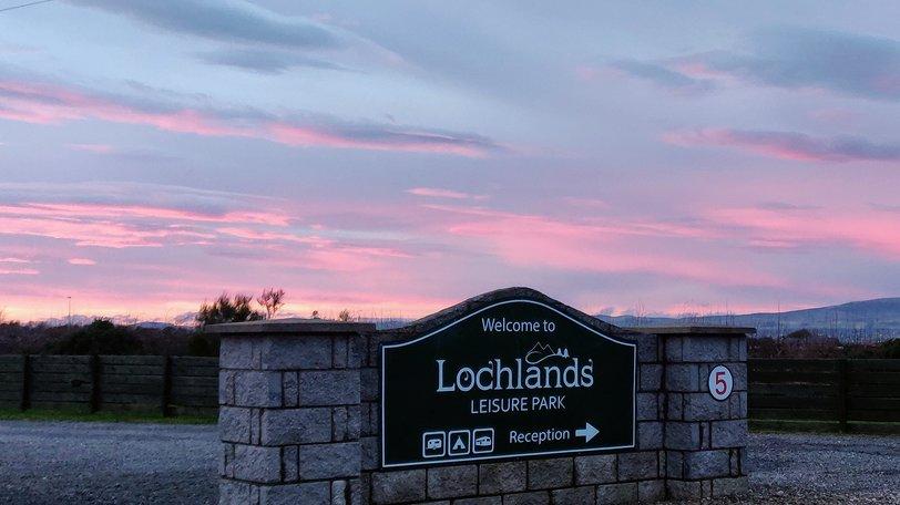 Holidays in Scotland - Lochlands Caravan Park, Angus